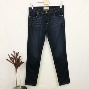 Free People dark wash skinny jeans 30